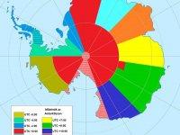 antarktisz időzónák